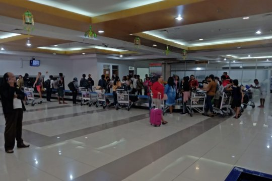 Puncak arus balik Bandara El Tari meningkat