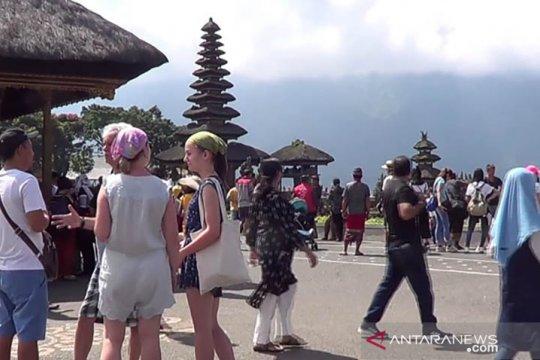 Danau Beratan Bali surut tidak kurangi kunjungan wisatawan