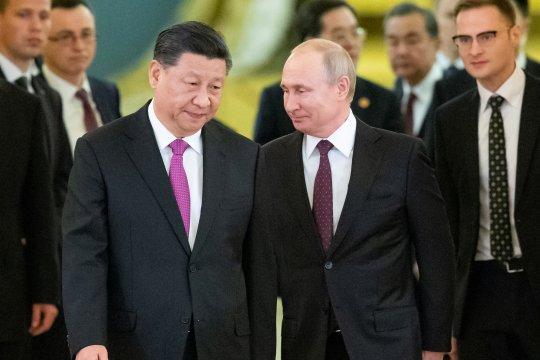 Rusia, China sepakat bentuk hubungan era baru