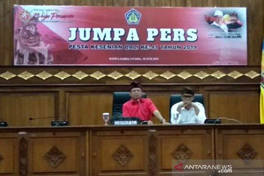 Pawai Pesta Kesenian Bali 2019 dijadwalkan dilepas Presiden