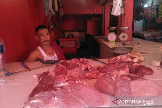 Harga daging di Cianjur belum turun