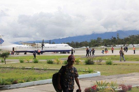 Papua Terkini- Budi Karya: Bandara Wamena masih aman, tidak rusak