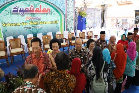 Ribuan masyarakat hadiri syawalan Gubernur DIY di Kabupaten Sleman