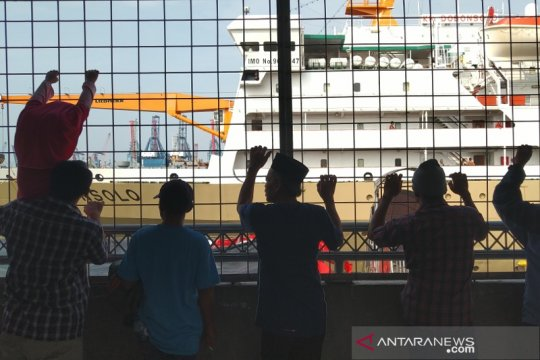 Mudik naik kapal itu nyaman asal sabar