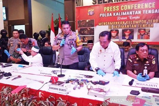 Kabinda Kalteng : aktivitas teroris hanya di dua daerah