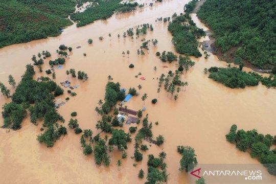 BNPB: Pengungsi banjir Konawe Utara capai 5.703 jiwa