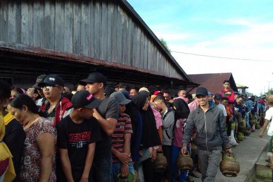 Warga Padang Tikar bersyukur Pertamina segera penuhi kebutuhan LPG