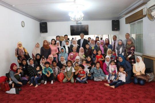 KBRI Amman pulangkan pekerja migran Indonesia beserta anak-anaknya