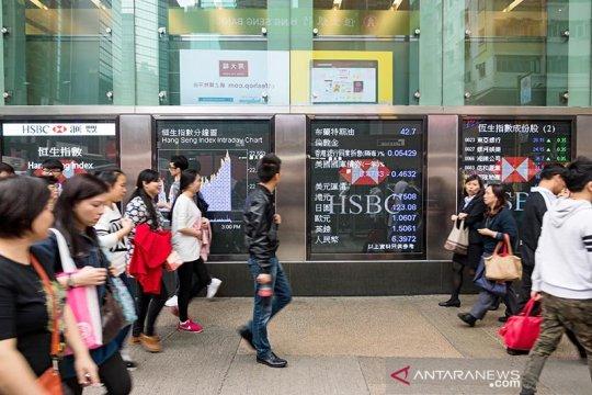 Saham Hong Kong ditutup naik, Indeks Hang Seng terkerek 0,56 persen