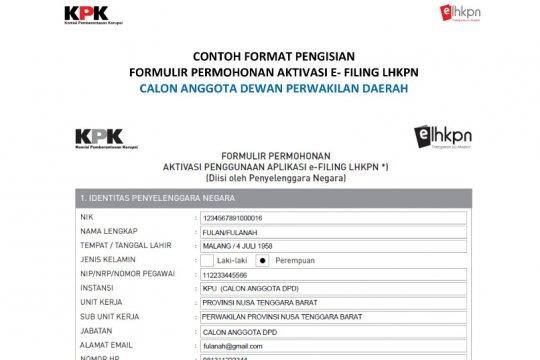 Presiden Jokowi diimbau tugaskan calon menteri sampaikan LHKPN