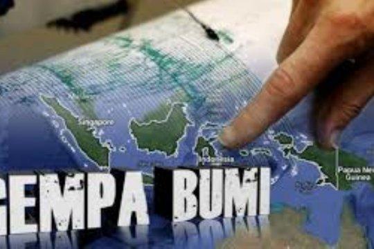 Gempa tektonik 6,3 SR guncang Kabupaten Sarmi