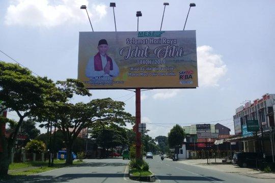 Wali Kota Padang bantah pemasangan balihonya terkait pilkada gubernur