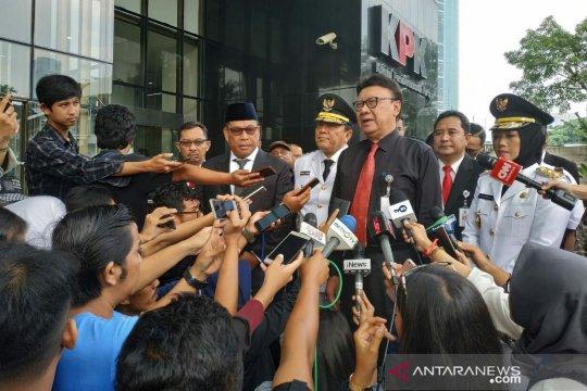 Mendagri ajak tiga kepala daerah ke KPK diskusi pencegahan korupsi
