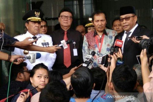 Tiga kepala daerah diminta jadi agen pemberantasan korupsi