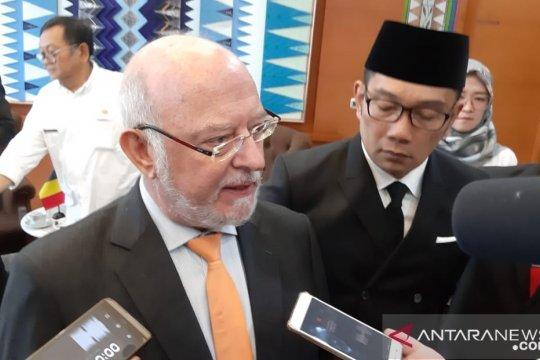 """Ridwan Kamil tawarkan Kawasan Segitiga """"Rebana"""" ke Belgia"""