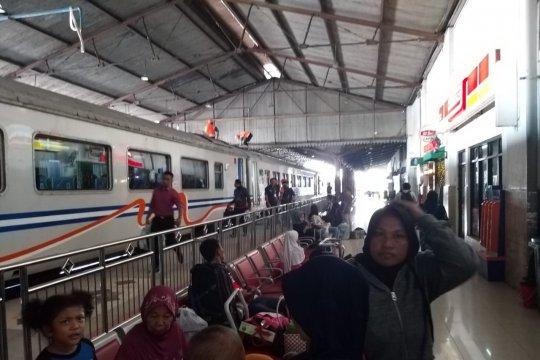 Jumlah penumpang KA Lebaran 2019 Daop Madiun naik 5 persen
