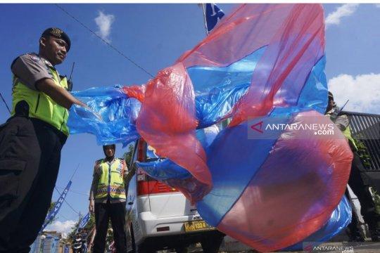 Polisi sempat razia balon udara di Trenggalek