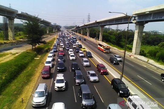 Jasa Marga catat lebih dari 1 juta kendaraan masuk kembali ke Jakarta