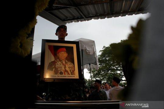 Pemakaman mantan Kepala Staf Angkatan Darat, Jenderal TNI Purnawirawan George Toisutta