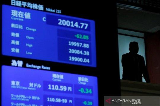 Saham Tokyo naik karena kekhawatiran prospek ekonomi global berkurang