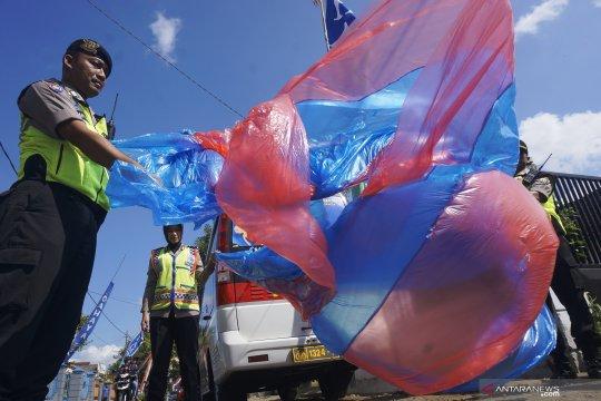Razia balon udara di Trenggalek