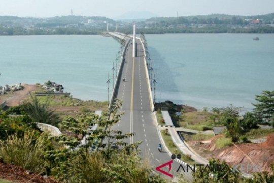 Gubernur Sultra usul bangun jembatan menghubungkan Pulau Buton-Muna