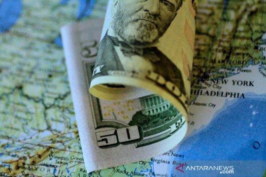 Dolar melemah tertekan data suram ekonomi AS