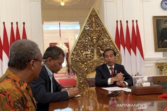 Jokowi sebut tak ada jatah-jatahan kursi menteri