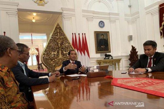 Sering dibully netizen, Jokowi sebut justru Kaesang senang
