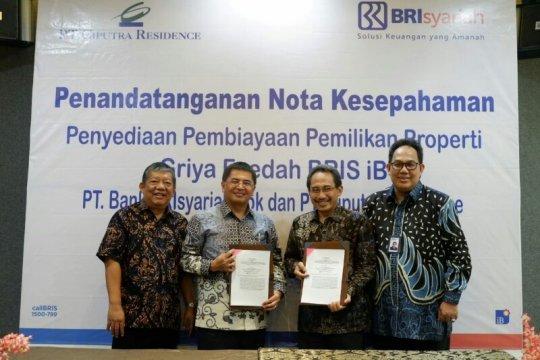 Brisyariah dan Ciputra Residence tanda tangani MoU pembiayaan KPR