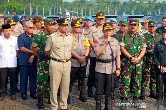 TNI-Polri apel konsolidasi pengamanan sidang MK