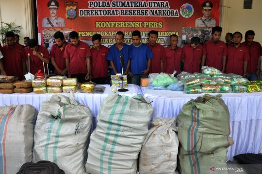 Polisi berhasil ungkap jaringan narkotika internasional Malaysia - Indonesia