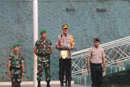 Apel konsolidasi TNI-Polri digelar di Makodam XVII Cenderawasih