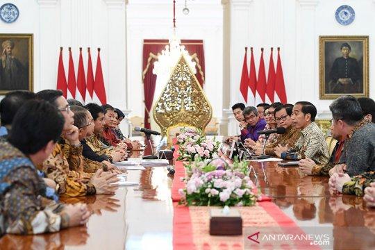 Presiden terima Apindo bahas upaya perbaikan ekonomi