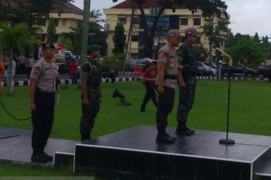 Kodam II Sriwijaya BKO-kan prajurit di lima polda