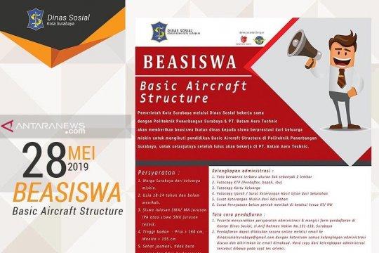 "Surabaya siapkan 48 beasiswa untuk ""Aircraft Structure"""