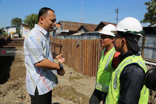 Pemasangan box culvert Manukan-Sememi Surabaya ditarget akhir 2019