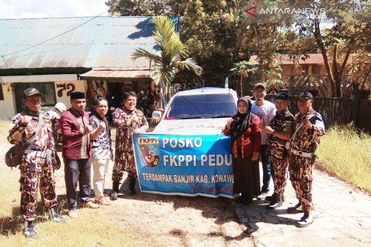 FKPPI Kendari bantu logistik korban banjir Konawe Utara