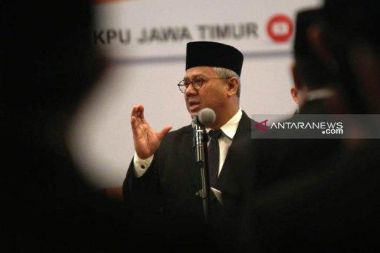 Ketua KPU tegur provinsi belum selesai unggah Situng
