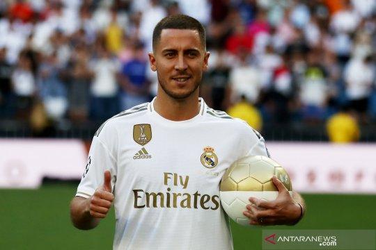 Debut La Liga Eden Hazard tertunda cedera