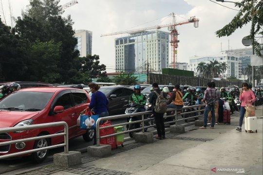 Jalan Medan Merdeka Timur terimbas penutupan jalan jelang sidang MK