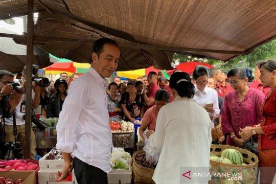 Jokowi: Rekonsiliasi politik dengan Prabowo bisa di Keraton Yogyakarta