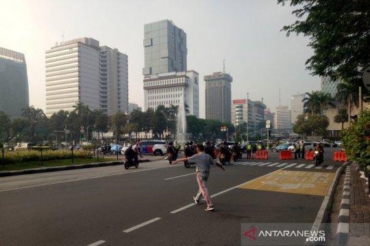 Jalan Medan Merdeka Barat steril jelang sidang PHPU