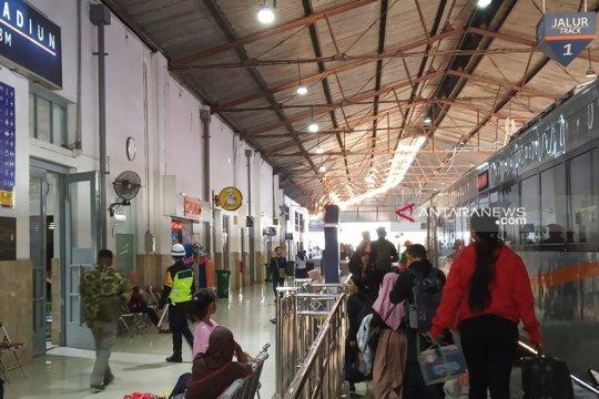 Daop 7 Madiun layani 582.111 penumpang selama angkutan Lebaran 2019
