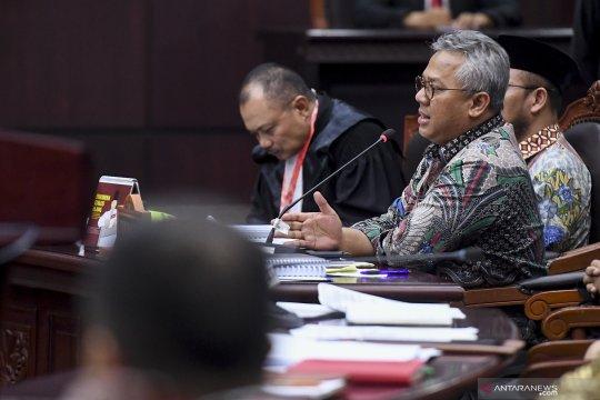 KPU menolak materi gugatan Prabowo-Sandi