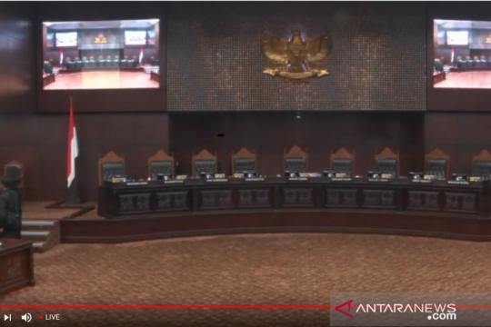 Mahkamah Konstitusi tayangkan langsung sidang perselisihan Pemilu 2019