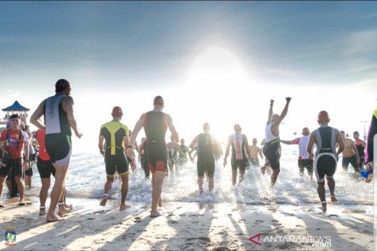 Sungailiat Triathlon 2019 dinilai berjalan sukses