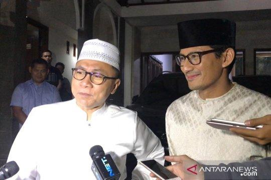Sandiaga-Zulkifli Hasan bahas perkembangan sidang sengketa Pilpres