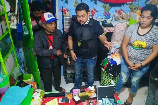 Polisi temukan ribuan ekstasi di sebuah rumah Kampung Bahari Jakarta