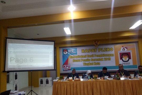 Ketua dan empat komisioner KPU Kota Palembang resmi tersangka